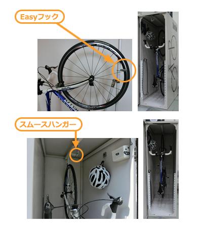 自転車ロッカーの利用に際して